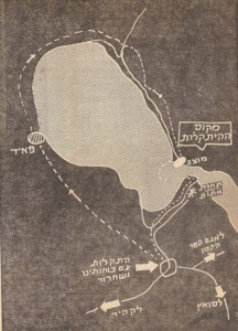 step by step map sinai 1973